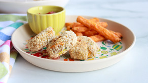 Lunchbox-Friendly Crispy Hidden Veggie Chicken Nuggets