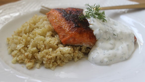 Recipe: Spring Salmon with Dill Sauce
