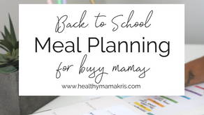 How I Meal Plan for our family