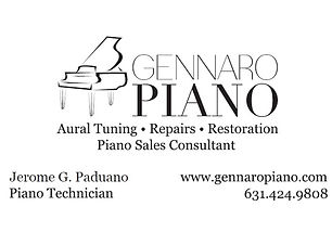 Gennaro Piano, Inc.