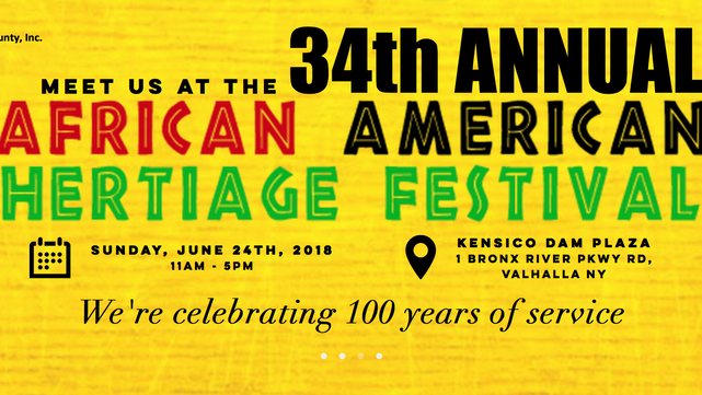 Meet Us at the 34th Annual African American Heritage Festival