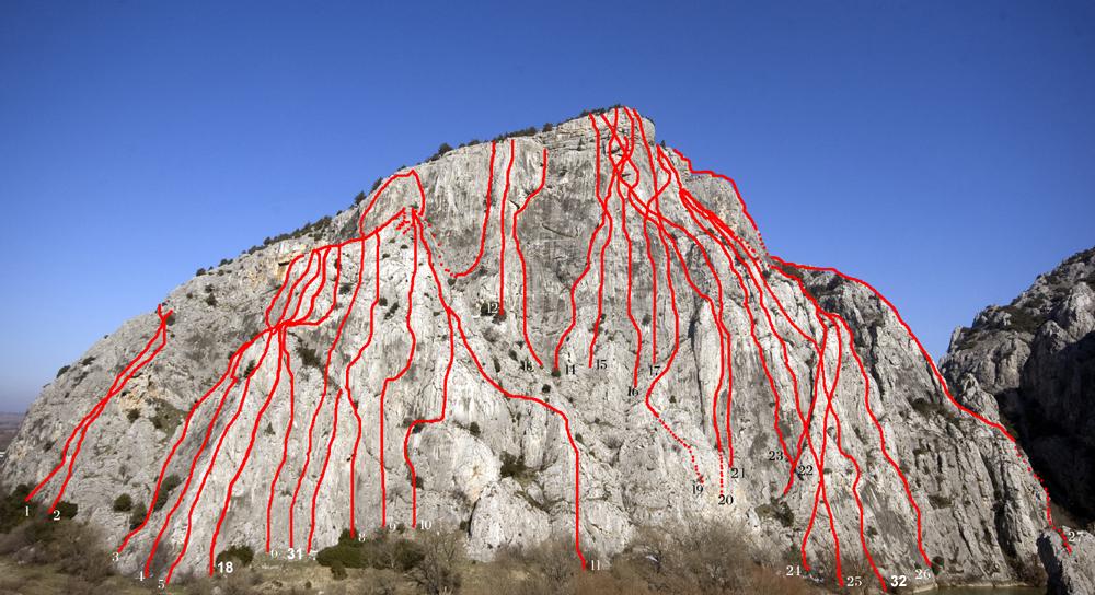Demir-kapija-Southern wall