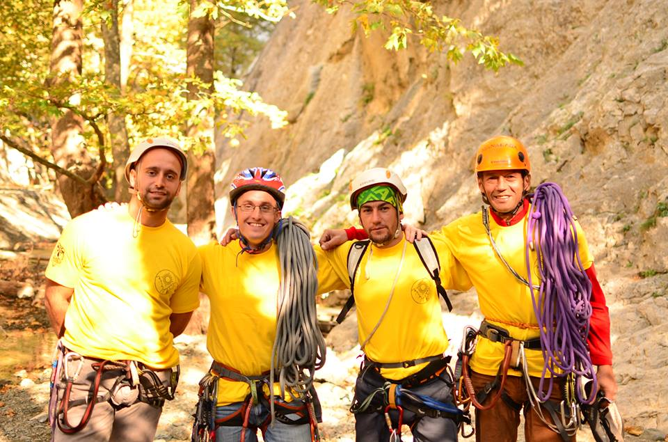 Demir Kapija climbing festival teem