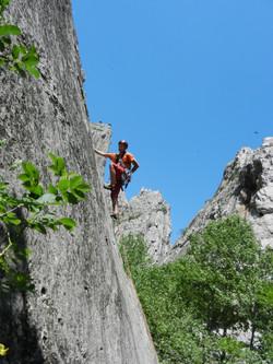 Sergei Dashkevich, first ascent