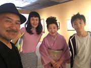 矢萩春恵先生と一緒に。