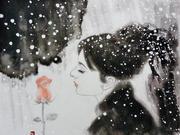 「雪美人」