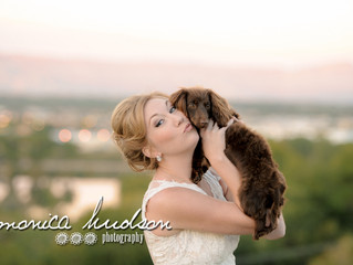 Summer Style Shoot: Gold, Blush, and a Wiener Dog!