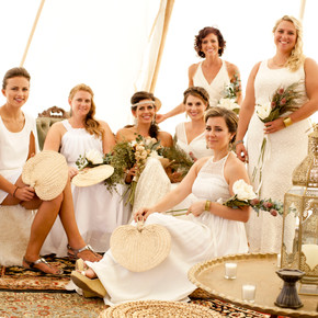 Under the Canvas: Moab Boho Wedding