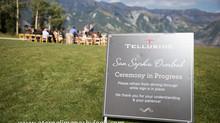 Telluride Wedding at San Sophia Overlook