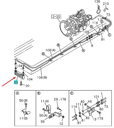 1217003940 Радиатор охлаждения масляный КПП