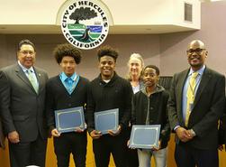 Honoring Hercules Students Black History