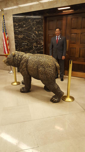 Visiting the Governor's Office