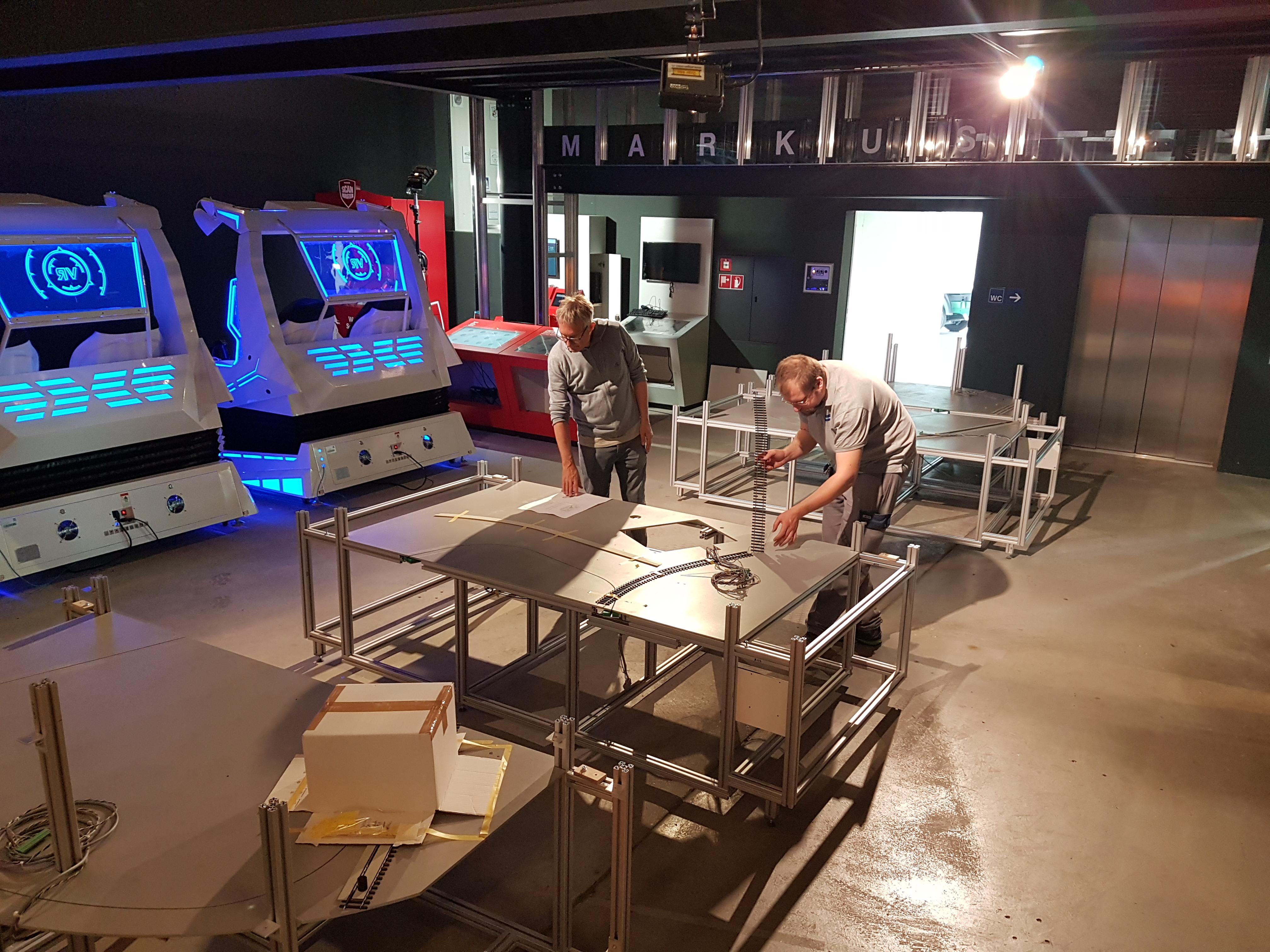 Galliker Transport AG im Verkehrshaus der Schweiz mit dem interaktiven Miniaturmodell