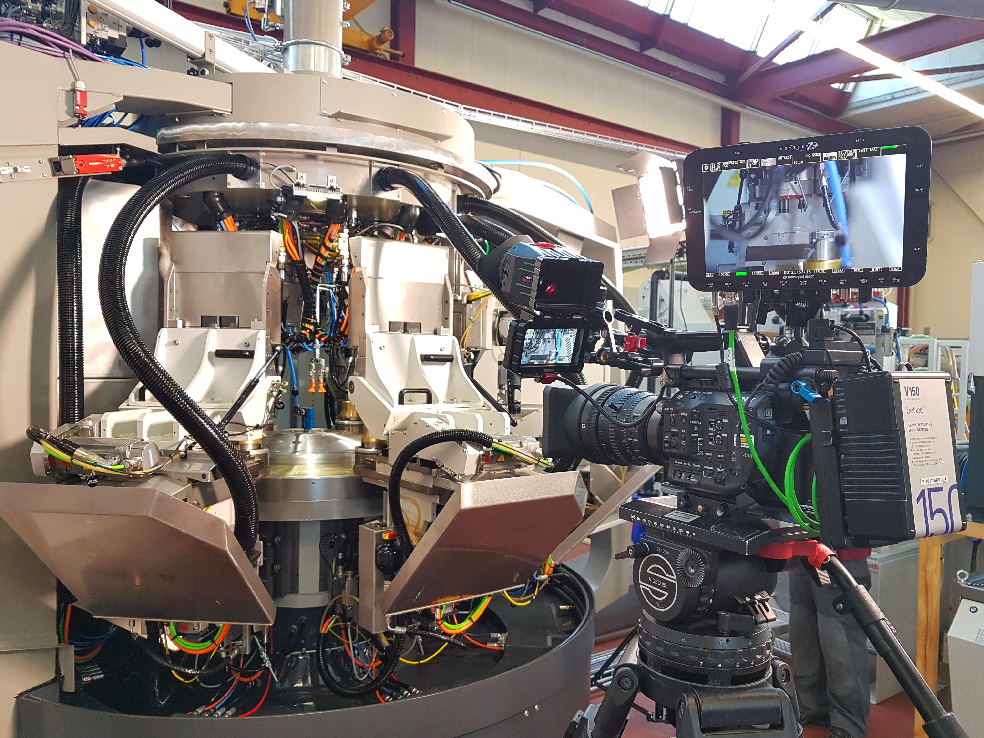 Imoberdorf AG, CNC-Rundtaktmaschinen