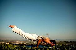 Hombre de la yoga