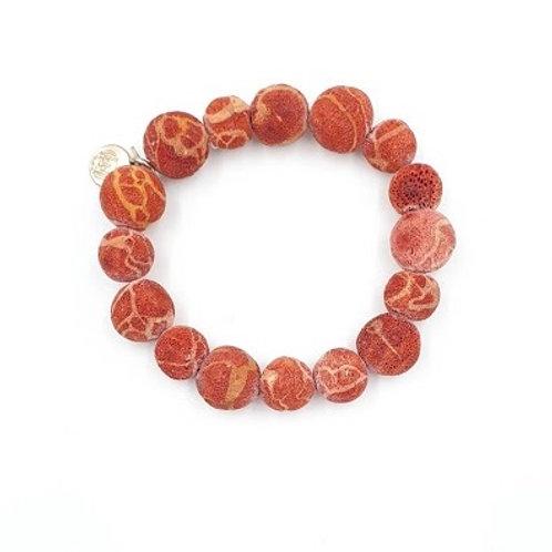 Multi Color Lava Stone Bracelet