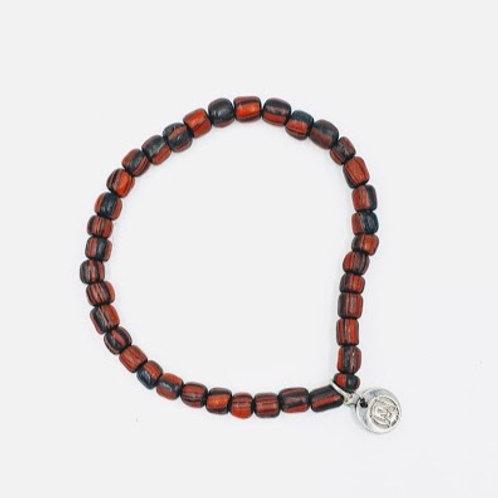 Bali Red + Black Bracelet