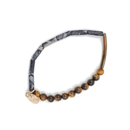 Simple Tiger's Eye Small Beads