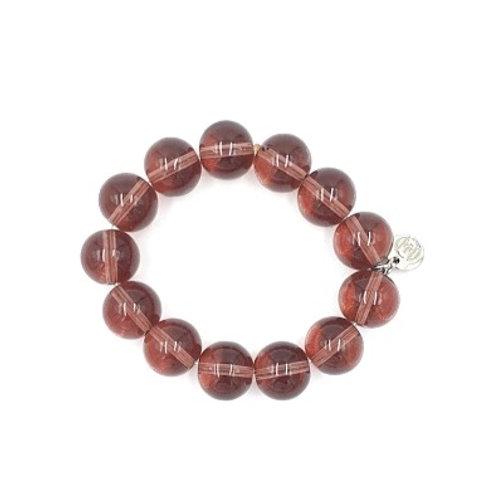 Large Plum Bracelet