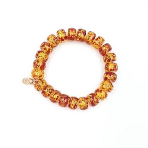 Central African Amber Stone Bracelet