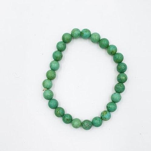 Agate Single Stone Bracelet