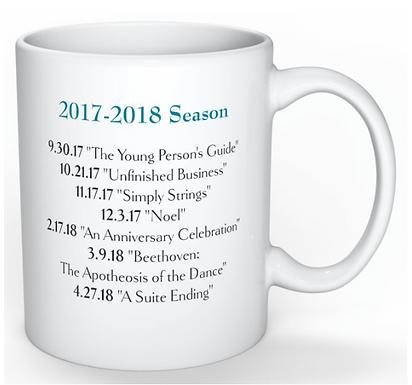 Sinfonia da Camera Mug, Season 2017-2018
