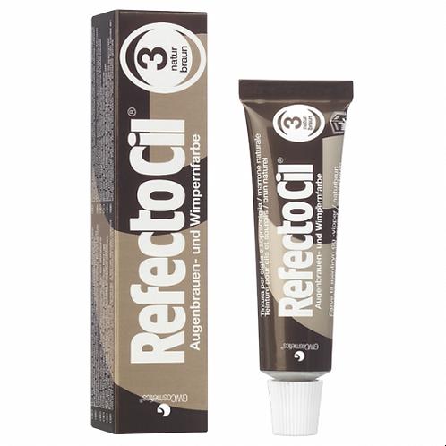 """Краска для бровей и ресниц """"REFECTOCIL"""" (коричневая 3)"""