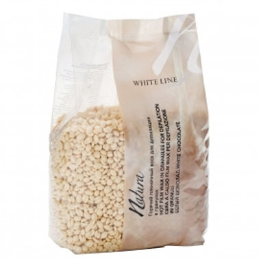 ITALWAX воск горячий (пленочный) Белый шоколад гранулы 500гр
