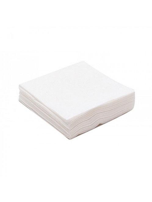 Салфетка одноразовая 10*10 спанлейс белый White line 100 шт