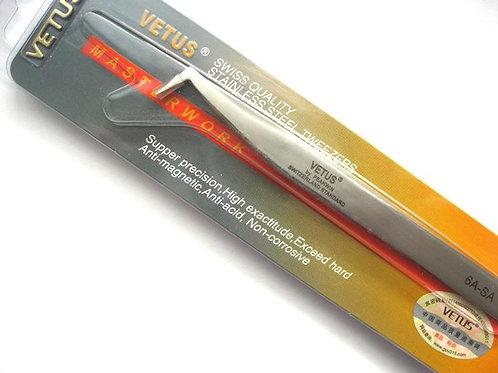 Пинцет для объемного наращивания ресниц Vetus 6A-SA