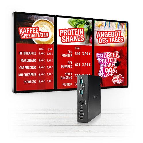 Digitales Menüboard - inkl. Oxygen Player & 12 Mon. OMS Service
