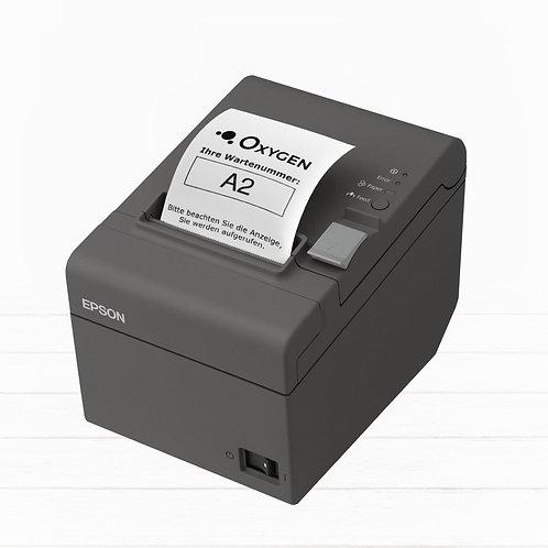 Oxygen.Q - Ticketdrucker Tischgerät (Epson)