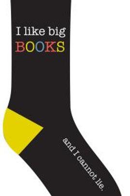 I Like Big Books and I Cannot Lie Socks