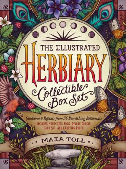 The Illustrated Herbiary Collectible Box Set: 36 Bewitching Botanicals