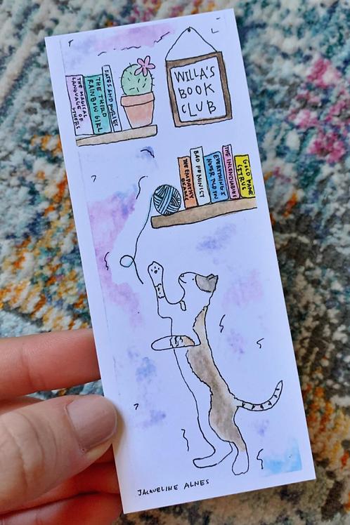 Willa's Cat Bookmark