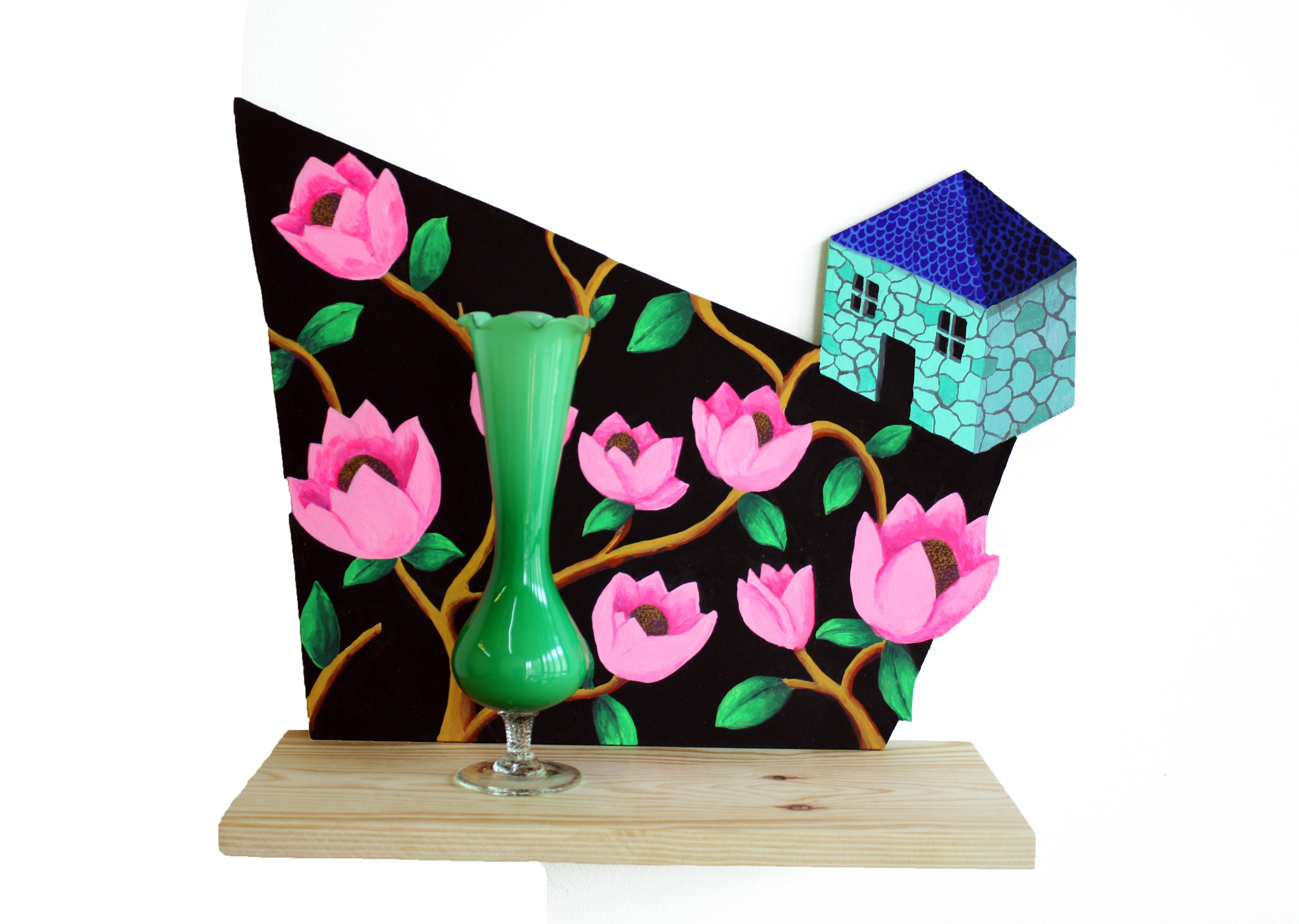 Le petit vase vert,