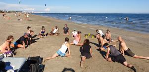 Beach wod montpellier