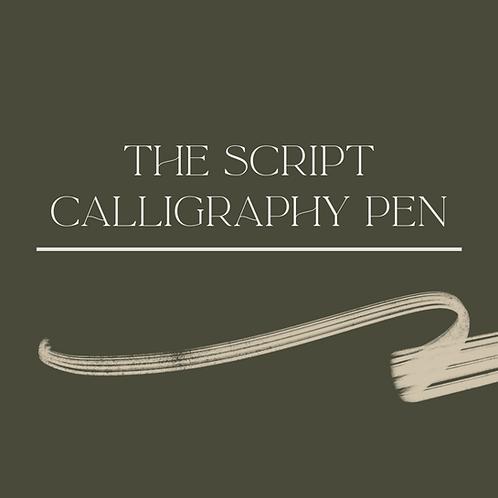The Script Calligraphy Pen