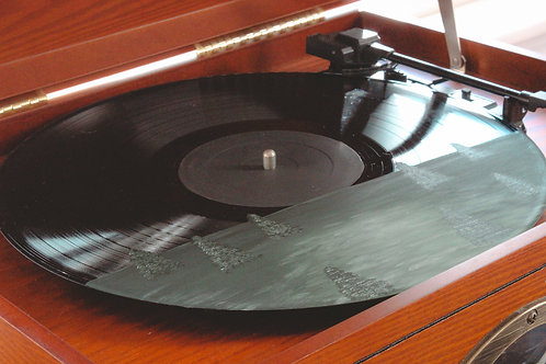 Semi Custom Vinyl: Field With Trees