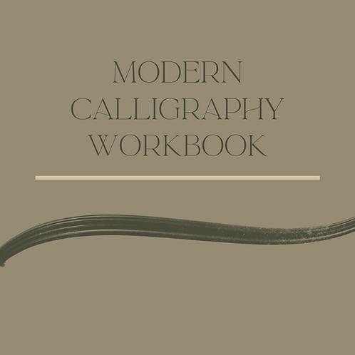 Hand Lettering Workbook - SIP & SCRIPT DISCOUNT