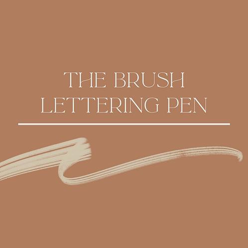 The Brush Lettering Pen