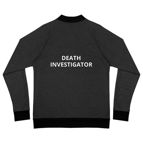 Death Investigator Bomber Jacket