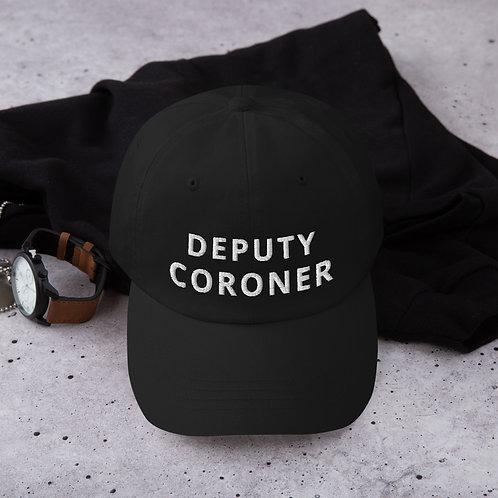 Deputy Coroner Baseball Hat