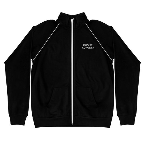 Deputy Coroner Piped Fleece Jacket