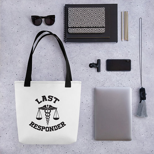 Last Responder 1-sided Tote bag