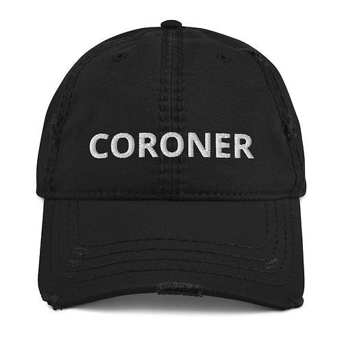 Coroner Distressed Hat