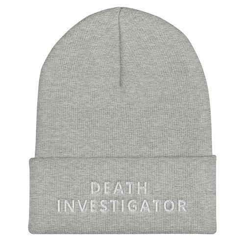 Death Investigator Beanie