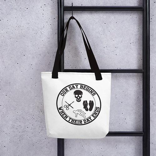 Last Responder - 2 sided Tote bag