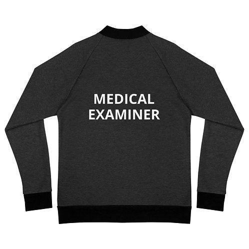 Medical Examiner Bomber Jacket