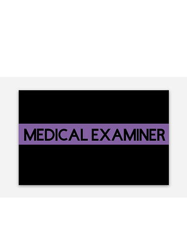 Medical Examiner PL Sticker